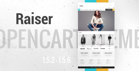 Raiser - Premium OpenCart Theme - OpenCart eCommerce