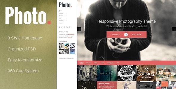 Photo - Photography PSD Template - Photography Creative