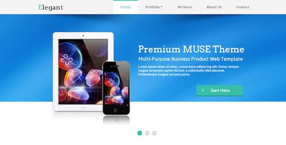Elegant Muse Web Template