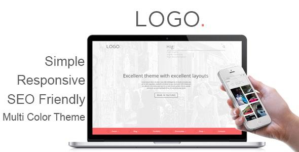 LOGO - Responsive HTML5 Template - Corporate Site Templates