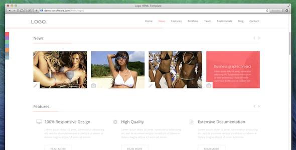 LOGO - Responsive HTML5 Template