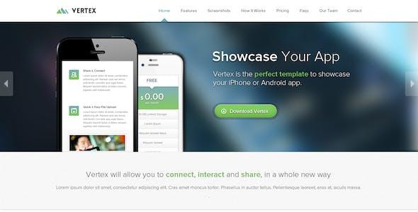 Vertex - Single Page App Template