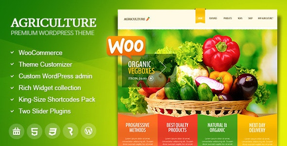 Agriculture - All-in-One WooCommerce WP Theme - Retail WordPress