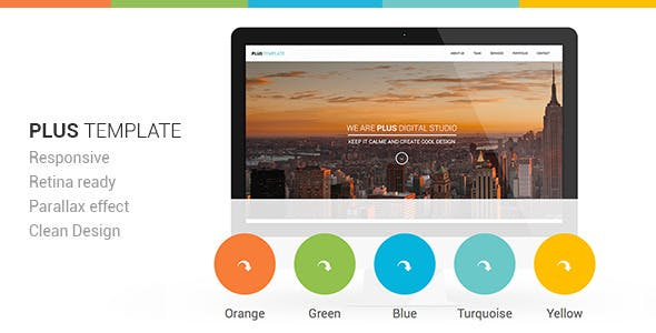 Plus Html One-Page Template