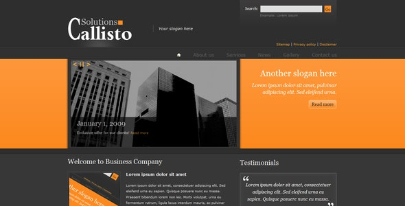 Callisto Business Package - Business Corporate
