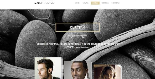 _NSPIREDISE - Onepage Parallax Responsive Template