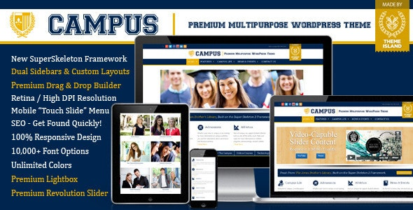 Campus | Multipurpose WordPress Theme - Education WordPress