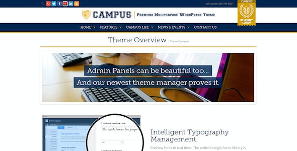 Campus | Multipurpose WordPress Theme