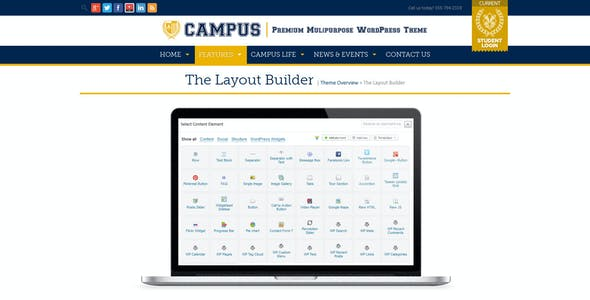 Campus | Multipurpose WordPress Theme