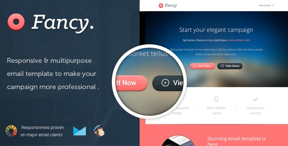 FancyMail - Responsive Email Template - Email Templates Marketing