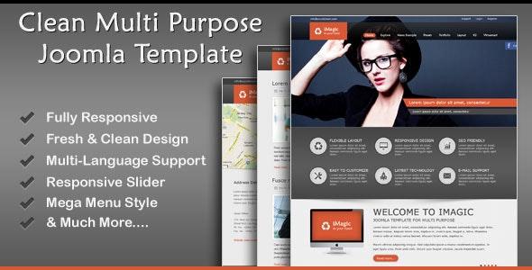 iMagic - Responsive Multi-Purpose Joomla Theme - Business Corporate