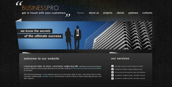 BUSINESS PRO - Business Corporate