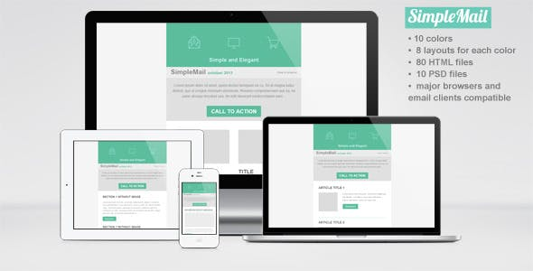 SimpleMail Email Newsletter Template