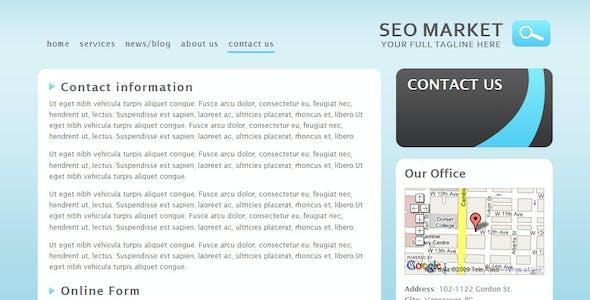 Seo Market - Marketing Business Template