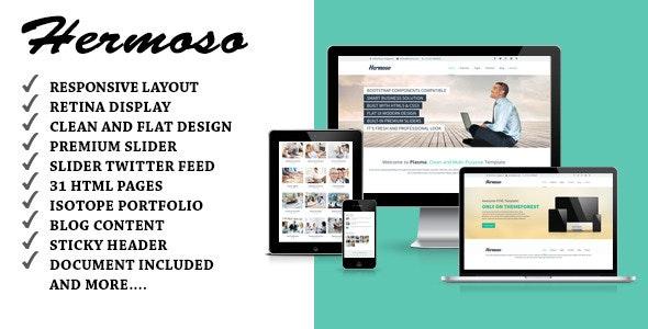 Hermoso - Multi-Purpose Responsive HTML Template - Business Corporate