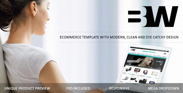 B&W eCommerce theme - Miscellaneous Magento