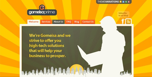 Gomeisa - 4 Styles to choose from - Business Corporate