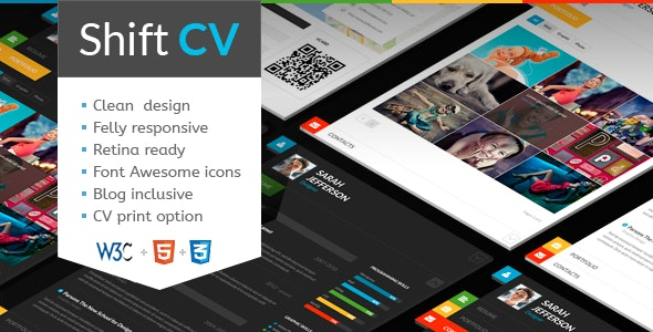 ShiftCV | Blog, Resume, Portfolio - Virtual Business Card Personal