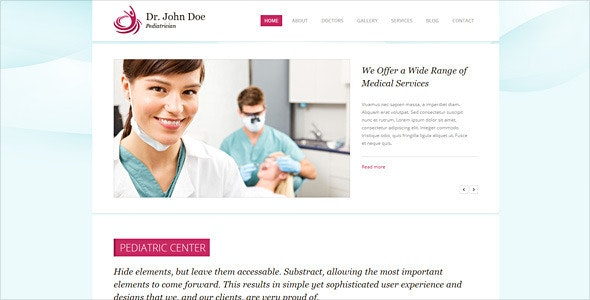 Dr. Doe – Responsive Retina-Ready HTML5 One-Page - Health & Beauty Retail