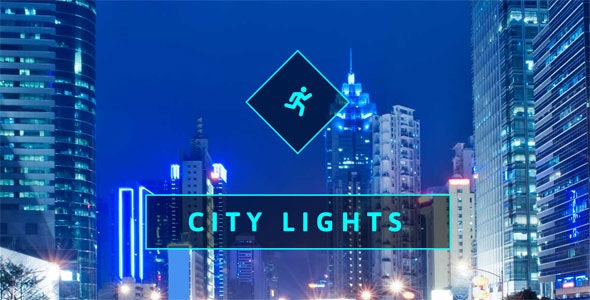 City Lights One Page Muse Web Template - Creative Muse Templates