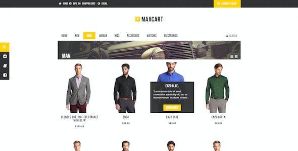 Practiqa Responsive & Customizable Opencart Theme