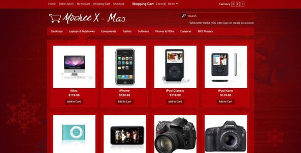 Mochee Stores Opencart 1.5 Template