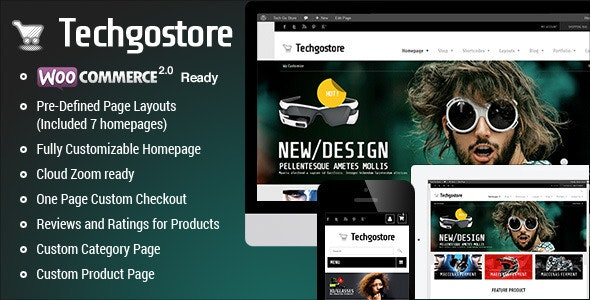 WooCommerce WordPress Theme - TechGoStore - WooCommerce eCommerce