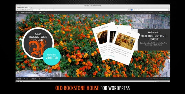 Old Rockstone House–Blog, Gallery, Folio + RTL - Photography Creative