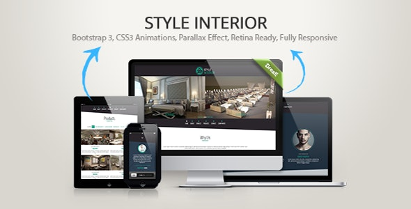 Style Interior - Bootstrap 3 One-Page Template - Business Corporate