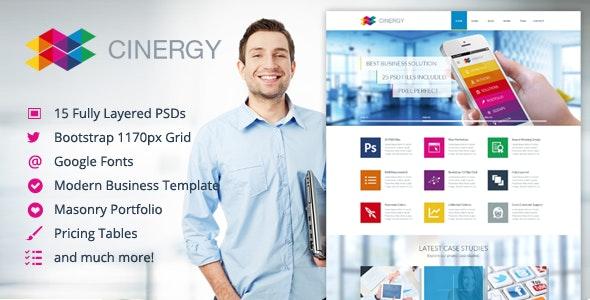 Cinergy - Modern Business Template - Business Corporate