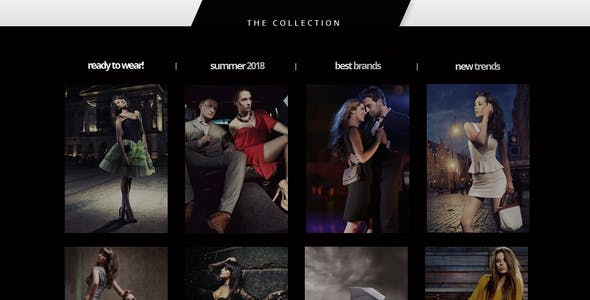 The Boutique One Page Muse Theme