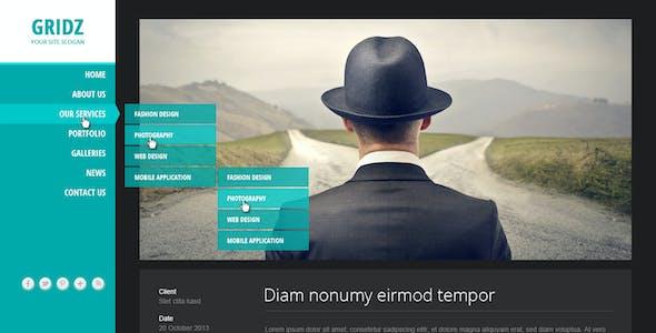 Gridz - Responsive HTML5 Template