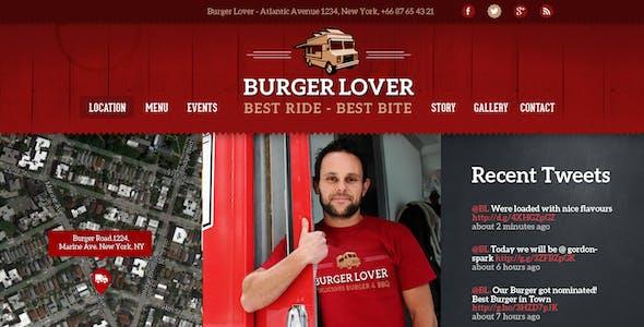 Food Truck & Restaurant 10 Styles - PSD Template