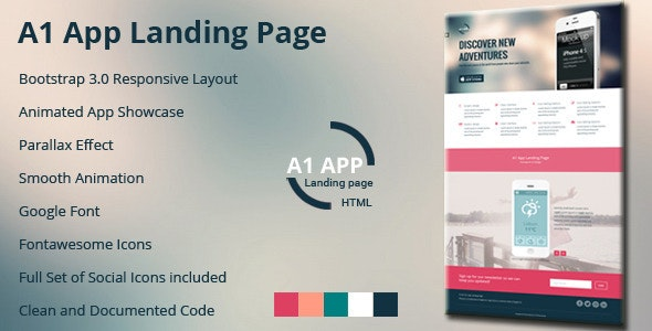 A1 App Landing Page - Apps Technology