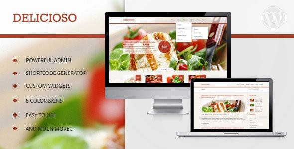 Delicioso - Delicious WordPress Restaurant Theme - Restaurants & Cafes Entertainment