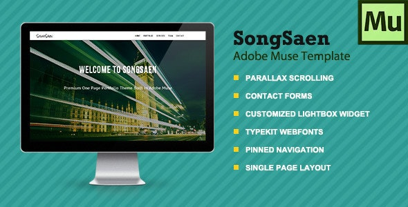 SongSaen | Parallax Muse Template - Creative Muse Templates