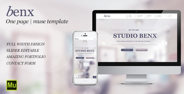 Benx   Corporate Agency Design  - Muse Templates