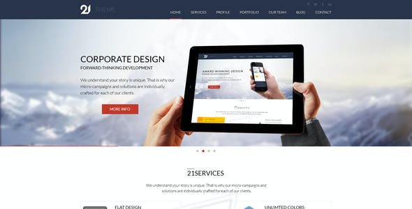 21-Theme Multipurpose PSD