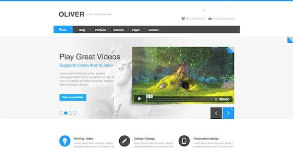 Oliver  Multi-Purpose Theme Psd Theme