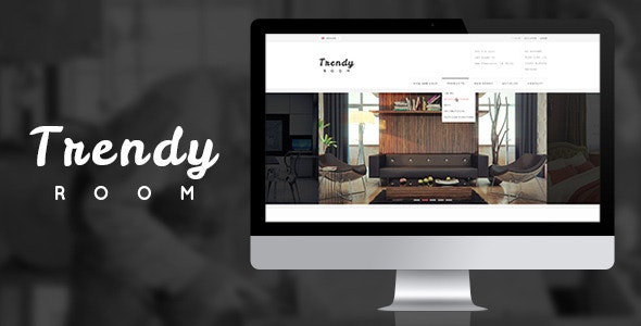 Trendy ROOM :: Luxury Shopping PSD Template - Shopping Retail