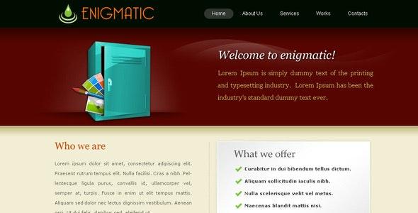 Enigmatic - Portfolio Creative