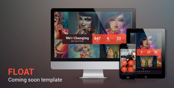 Float - Responsive Under Constraction Template