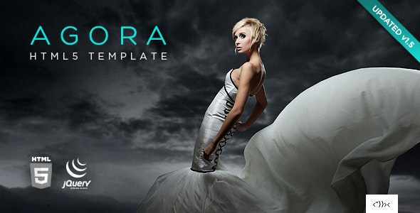 Agora HTML5 Template - Creative Site Templates