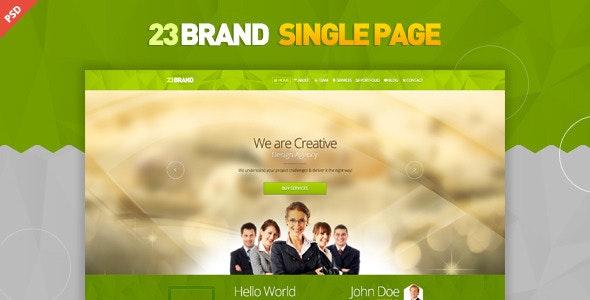 23 Brand PSD - Creative Photoshop