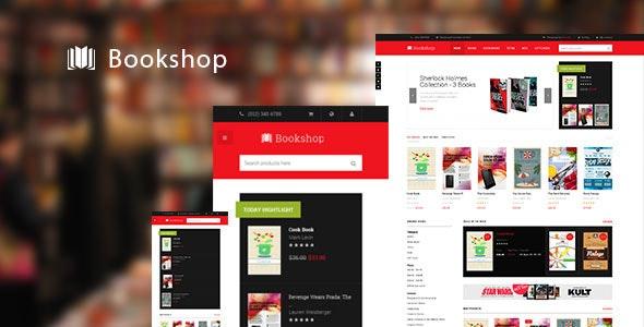 JM Bookshop-Responsive Magento theme for bookshop - Shopping Magento