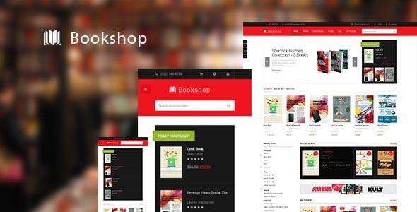 JM Bookshop-Responsive Magento theme for bookshop