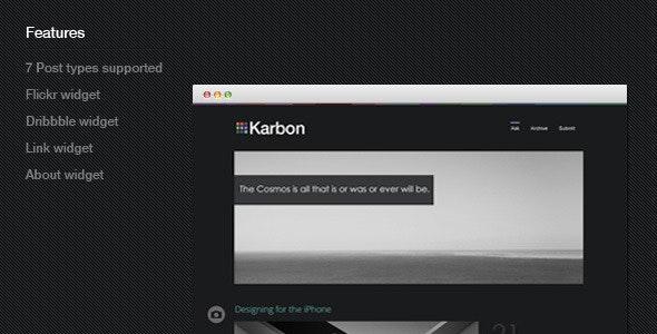 Karbon - Blog Tumblr