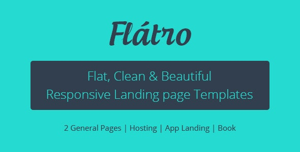 Flátro - Multipurpose Premium Landing Pages - Marketing Corporate