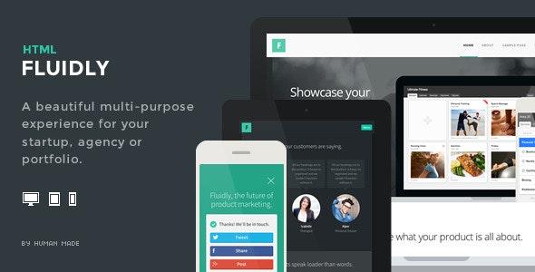Fluidly - Multi-Purpose Responsive Retina HTML5 - Creative Site Templates