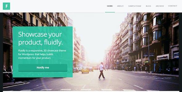 Fluidly - A Multi-Purpose PSD Template.